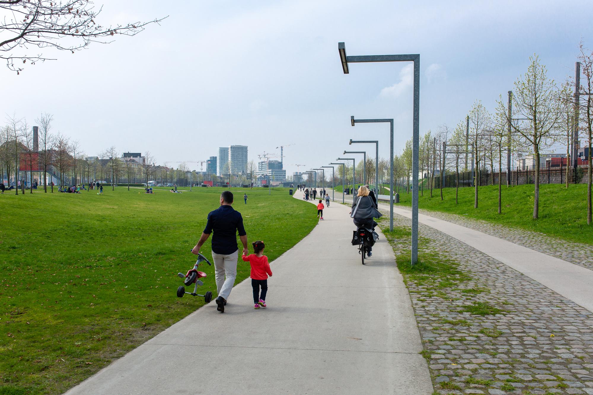 Antwerpen : Park Spoor Noord