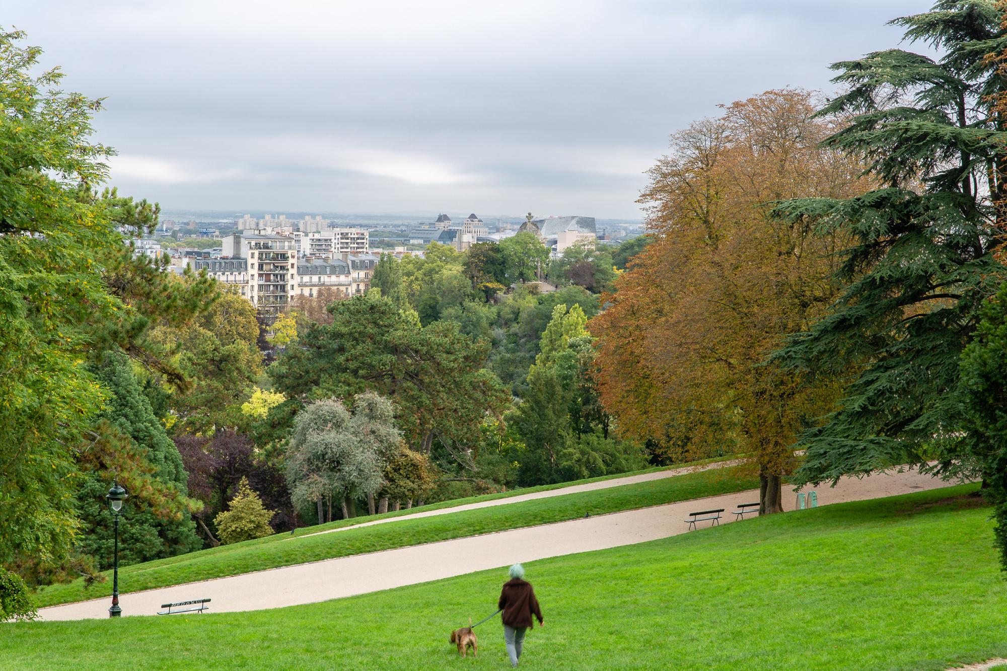 Parijs : Parc du Buttes Chaumont