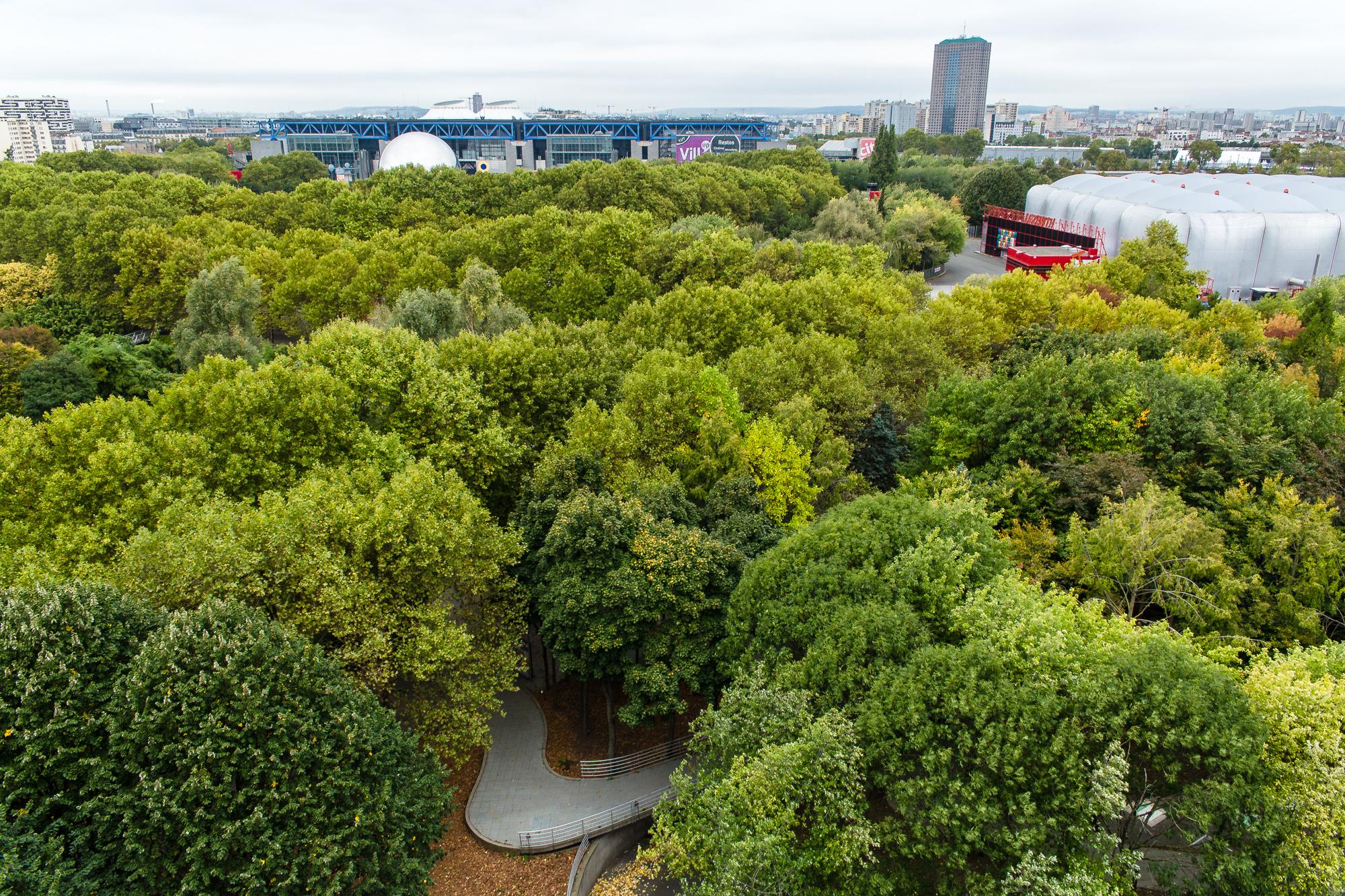 Parijs : Parc de la Villette